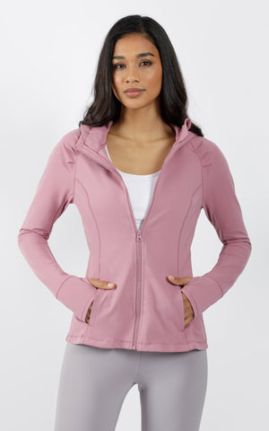 Slim Full Zip Hooded Jacket