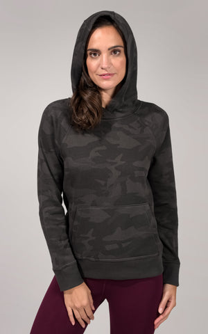 Hooded Pullover with Kangaroo Pocket