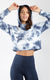 "Crop Hoodie and Super High Waist Elastic Free 9"" Short Set"
