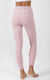 """Squat Proof"" Interlink High Waist 7/8 Ankle Legging with Back Zipper"