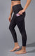 """Squat Proof"" Interlink High Waist 7/8 Ankle Legging With Back Yoke and Side Pockets"