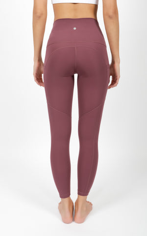 """Lux"" Super High Waist Side Pocket 7/8 Ankle Legging"