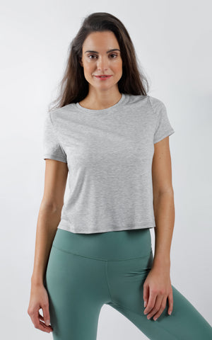 Boxy Short Sleeve Top