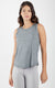 Super Soft Hi Low Muscle Tank Top