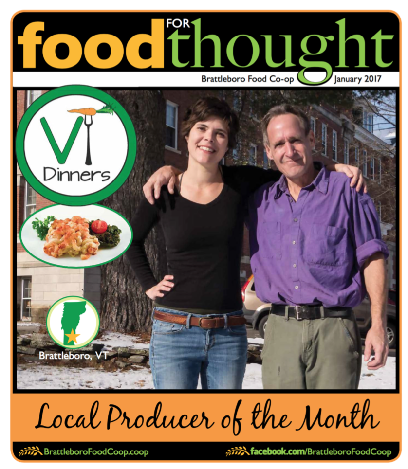 January Producer of the month at the Brattleboro Food Co-op!