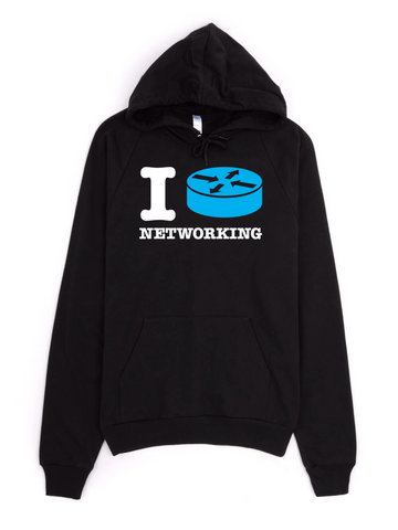 I Route Networking - Hoodie