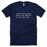 A multicast packet... - Shirt