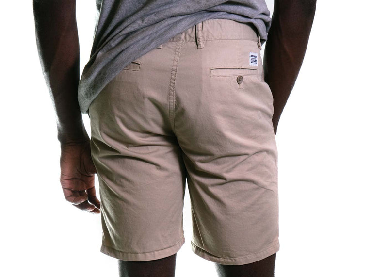 Aros Light Twill Shorts (Khaki)