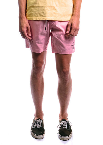 "Amphibious 17"" Swim Short (Pink)"