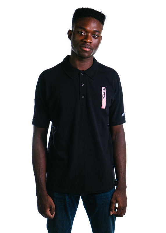 Champion x Wood Wood Polo (Black/Black)