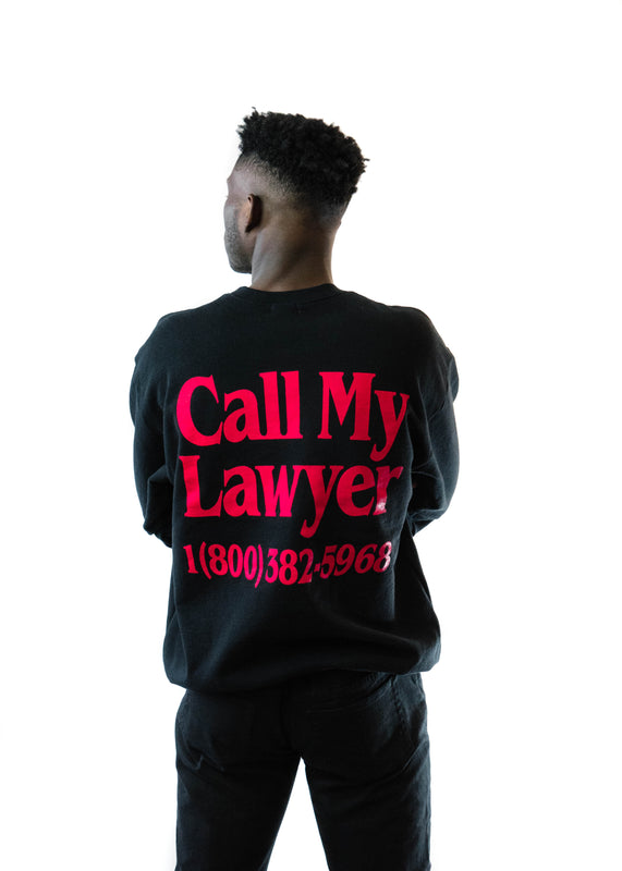 Lawyer Heavyweight Crew (Black)