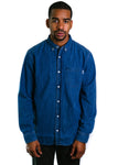 L/S Civil Shirt (Stone Washed Denim)