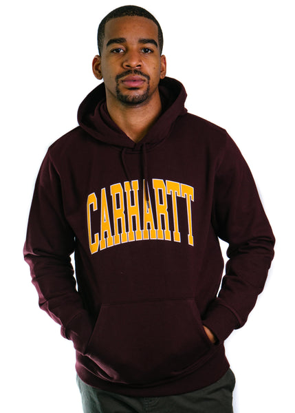 Hooded Division Sweatshirt (Damson)
