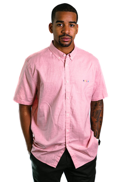 Hola Short Sleeve Shirt (Pink)