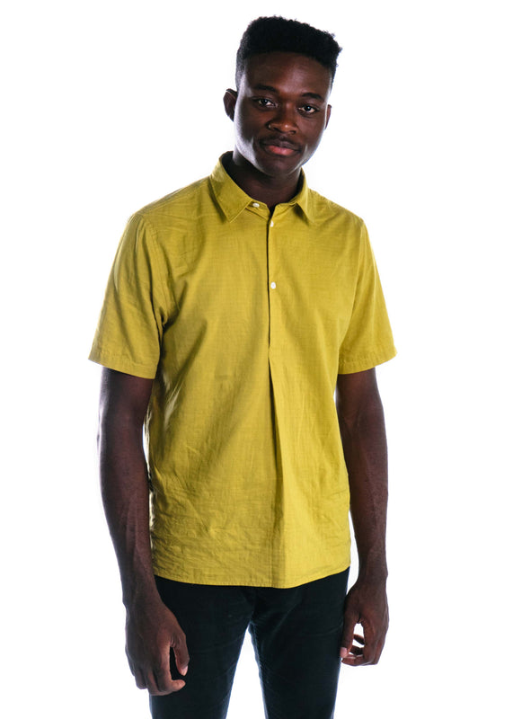 Theo Double Layer Cotton (Edge Yellow)