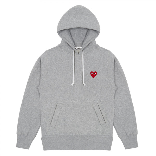 CDG Play Sweatshirt (Grey T169)