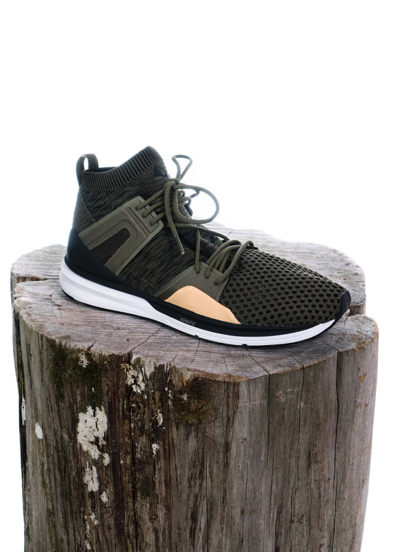 B.O.G. Limitless Hi evoKNIT (Burnt Olive/Black/White)