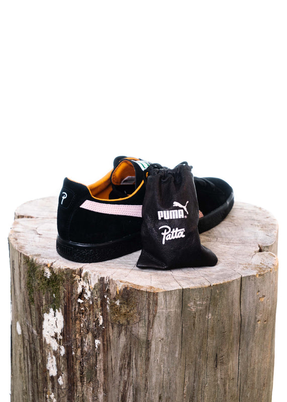 Clyde X Patta (Black/Pink)