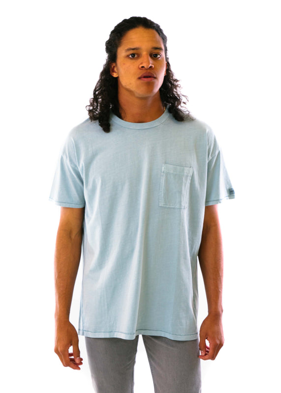 Rugger Pkt Tee (Pigment Teal)