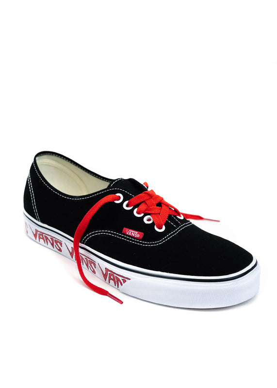 VANS Sketch Sidewall Authentic (Black/Red)