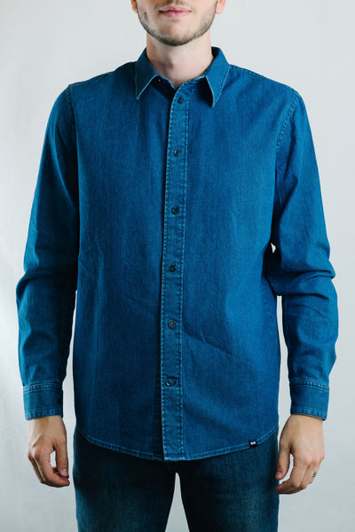 Flint Shirt (Blue Heavy Rinse)