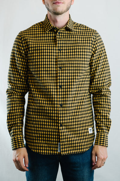 Greco Shirt (Lemon Checks)