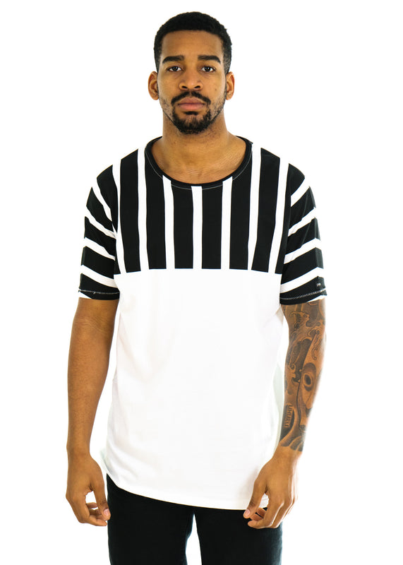 Lanes EZ Boy Tee (White/Black)