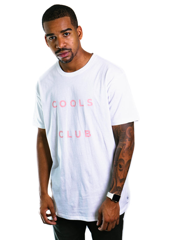 Cools Club Tee (White)