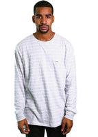 B. Original Long Sleeve Tee (Bone Stripe)