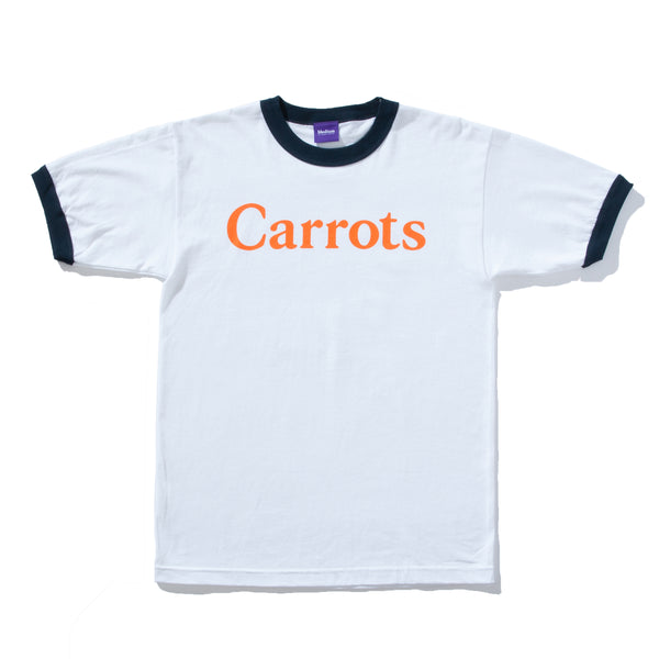 Carrots Ringer T-shirt (White)