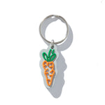 Carrots Logo Keychain (Orange)