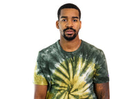 Champion Reverse Weave Tie Dye T-Shirt (Mission Green)