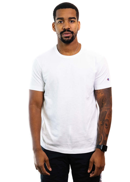 Champion Reverse Weave Basic T-Shirt (White)