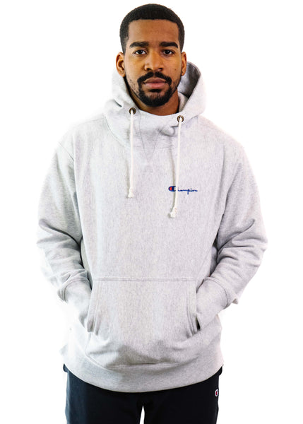 Champion Reverse Weave Deconstructed Hoodie (Oxford Gray)