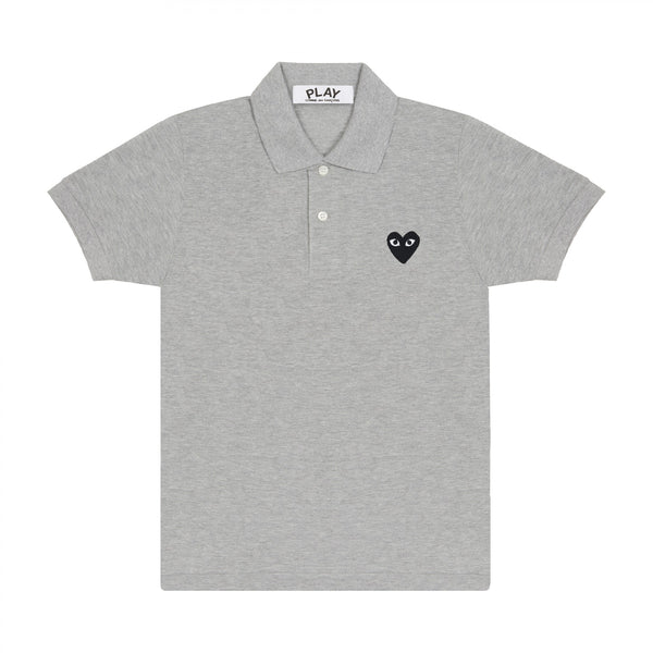 Black Play Polo Shirt (Grey)