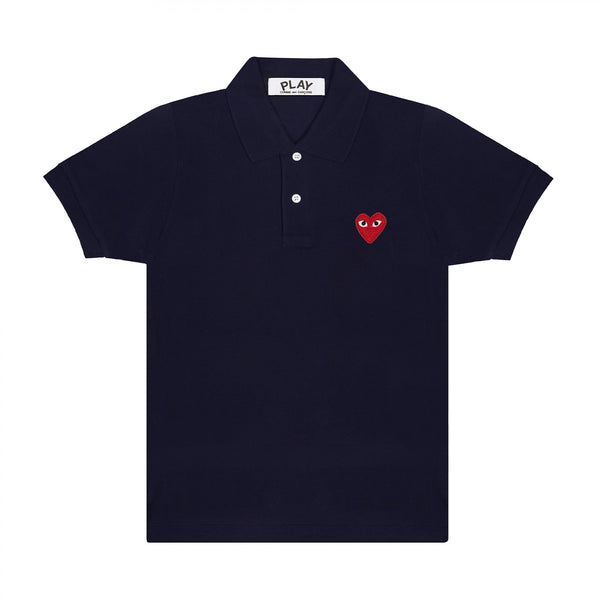 Red Play Polo Shirt (Navy)