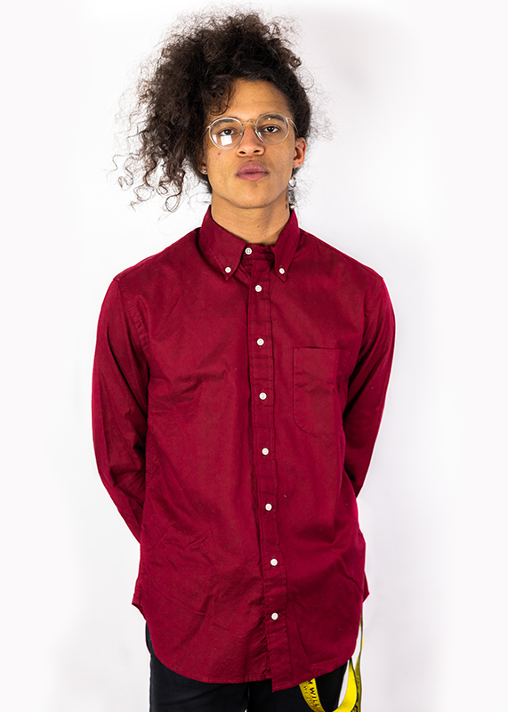 Burgundy Overdye Oxford