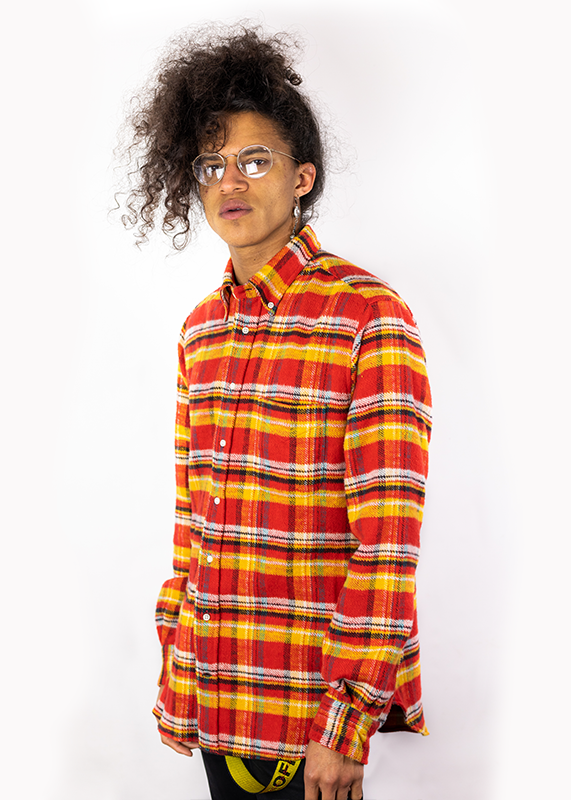 Utah Triple Yarn Flannel (Red/Yellow)