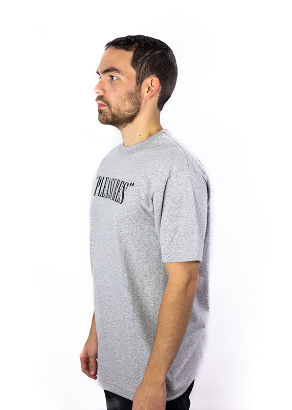 Core Logo Heather Grey T-Shirt