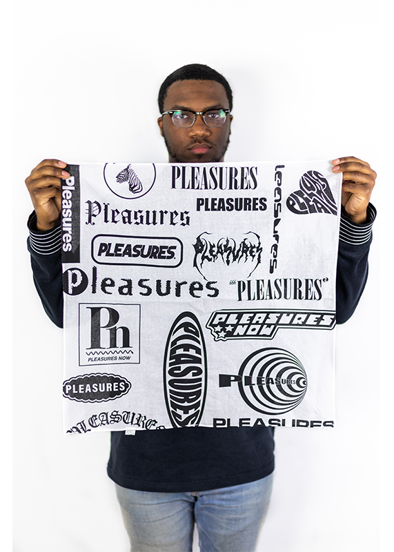 Pleasures Logorama Bandana