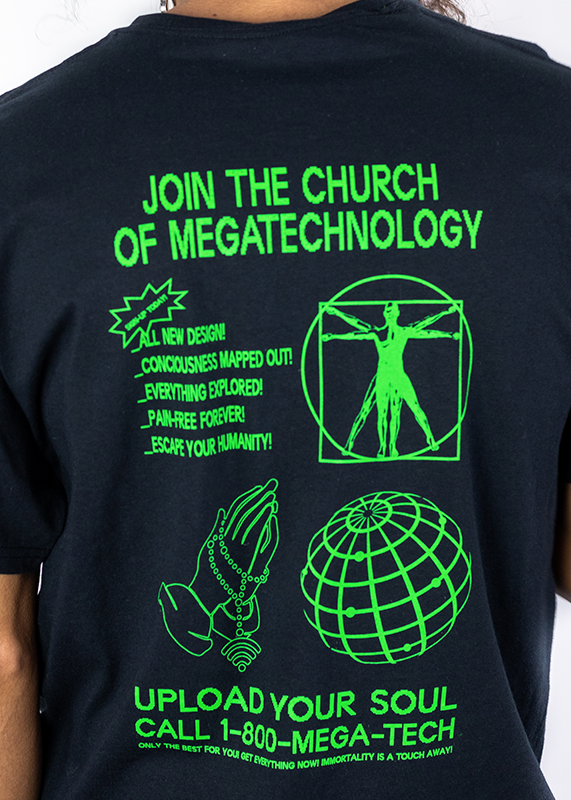 Join the Church of Megatech T-Shirt