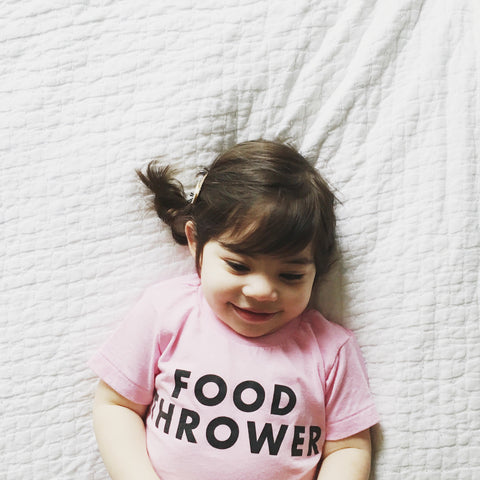 Food Thrower Tee (Pink)