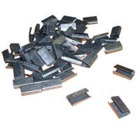 Semi Open Metal Clips 12mm - Richards Packaging