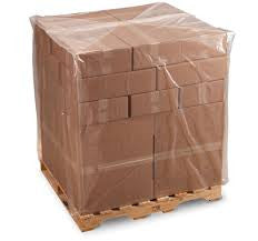 Clear Polythene Pallet Covers - Richards Packaging