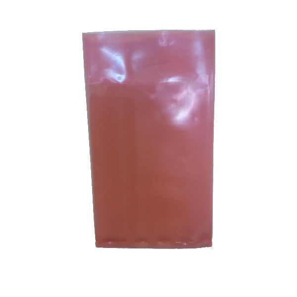 "Red Tint Polythene Bag 5"" x 9"" - Box of 1000 - Richards Packaging"