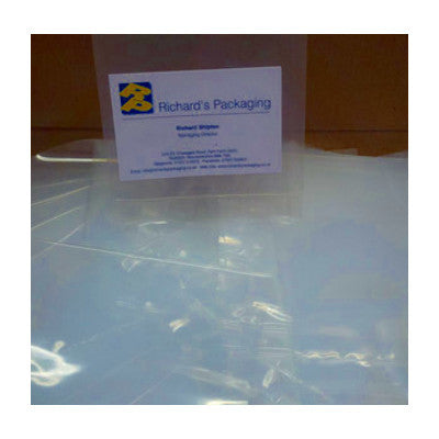 "Clear Polythene Bags 4"" x 5"""