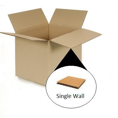 Single Wall Cardboard box