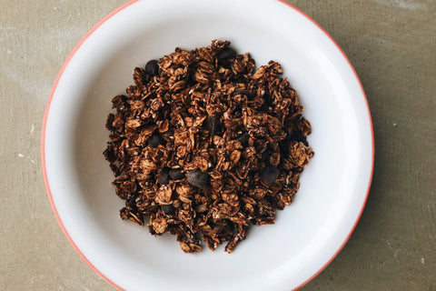 Cheri Litchfield's Chocolate Sourdough Granola