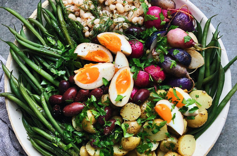 Spring Salad Niçoise with Navy Beans