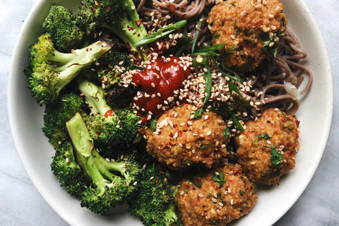 Turkey Quinoa Meatballs